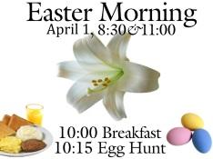 Easter Morning 2018