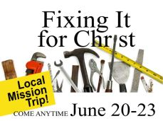Fixing it for Christ 2018b
