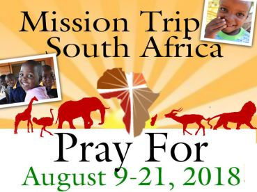 Pray for South Africa