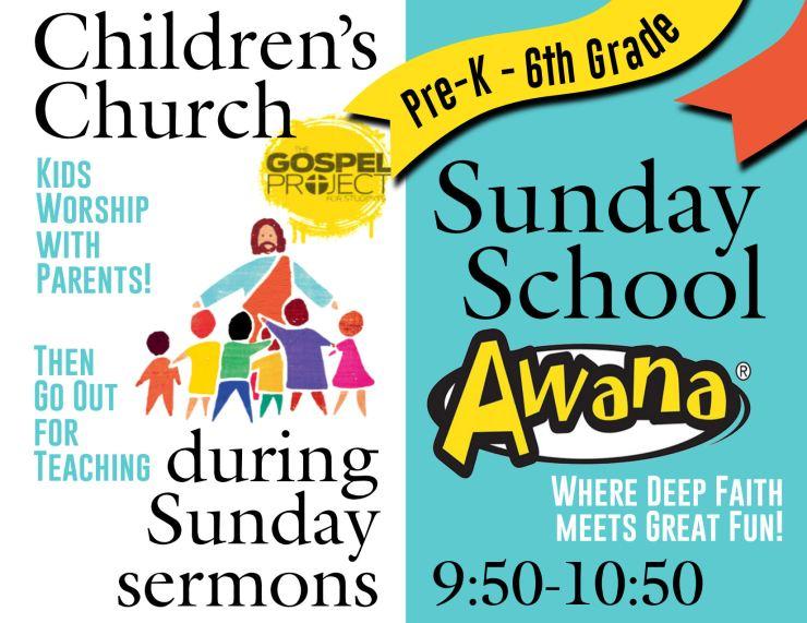 Children's Church & Awana 2