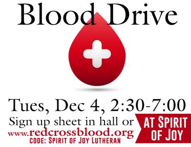 Blood Drive 120418