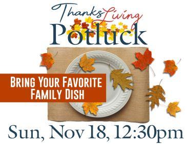 Thanksliving Potluck