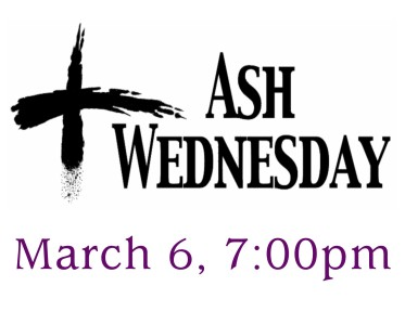 Ash Wednesday 2019