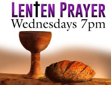 Lenten Prayer 2019