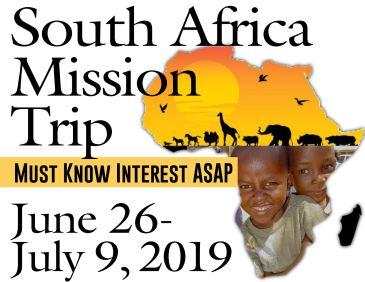 SA Misison 2019