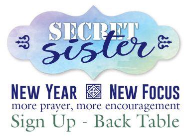 Secret Sister Sign Up
