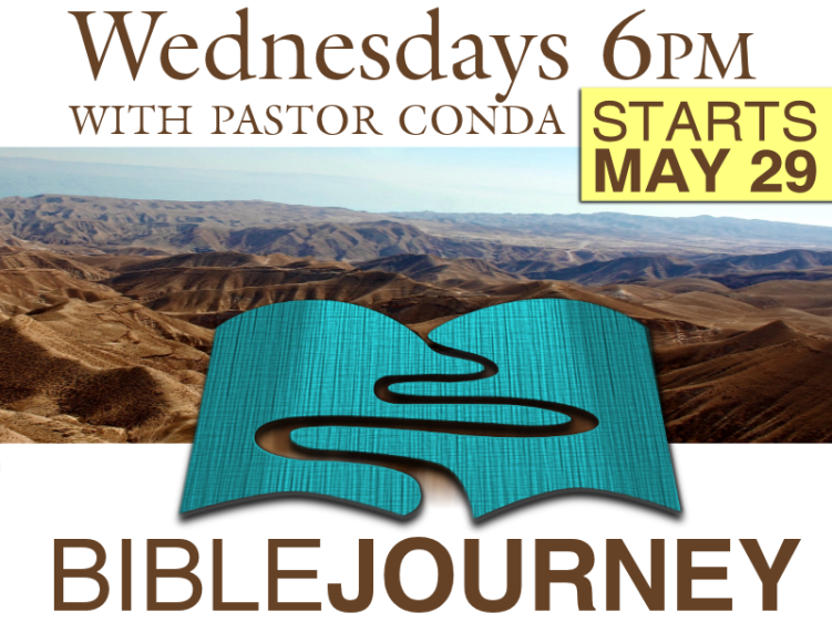 Bible Journey Starts May 29