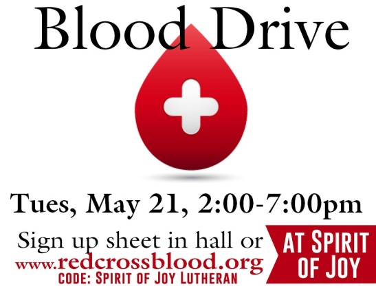Blood Drive spring 2019