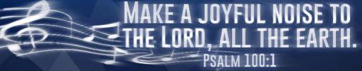 Psalm 100.1.