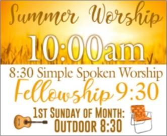 Summer Worship 2 no date