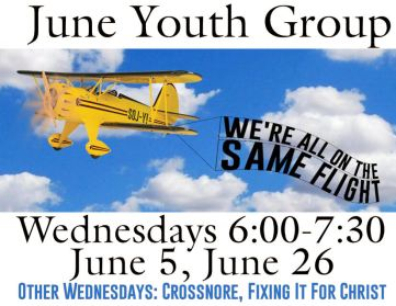 Summer Youth Group June dates - Flight
