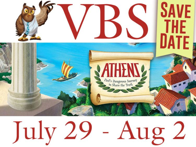 VBS 2019 Save the Date