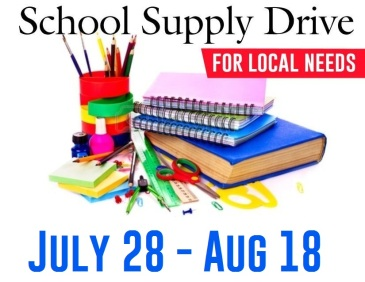 School Supplies 2019 dates only