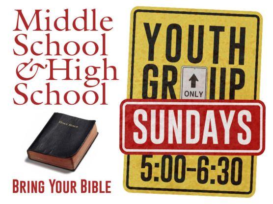 Youth Group Sundays