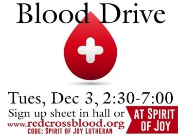 Blood Drive 120319