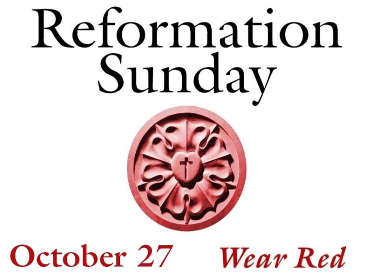 Reformation Sunday 2019