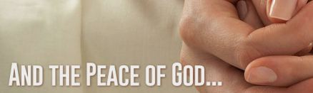 And the Peace of God